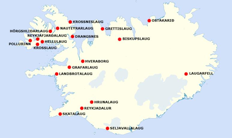 Carte D Islande